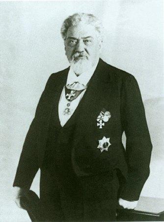 Albrecht Meydenbauer in 1909, at his retirement