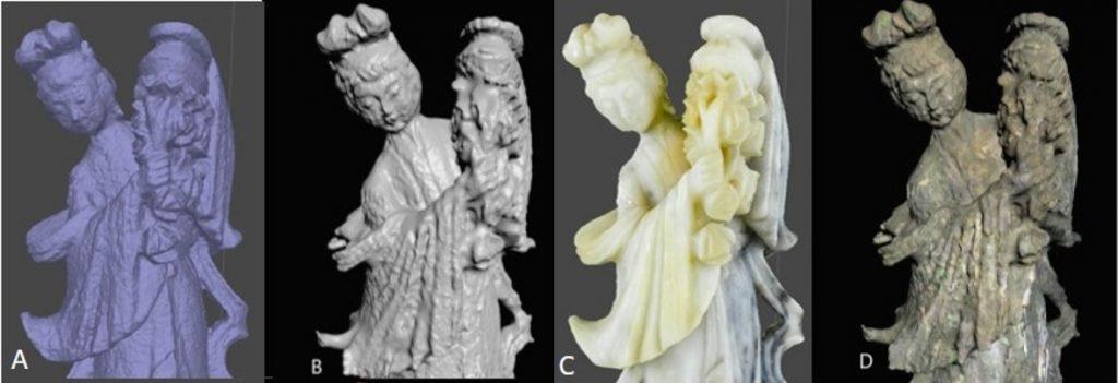 3D digitization of translucid object